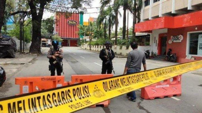 Ledakan Bom di Gereja Katedral Makassar, Ada Pria Berlumuran Darah Selamatkan Ibu dan Empat Anak