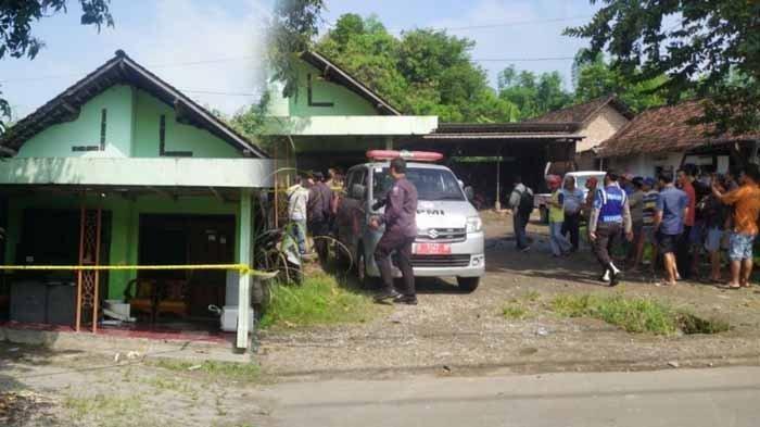 Lokasi penganiayaan terhadap satu keluarga di di Dusun Mumpak, Desa Jabon, Kecamatan Mojoanyar, Kabupaten Mojokerto.