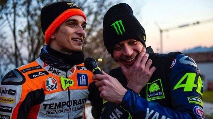 Bakal Lomba di MotoGP 2021, Luca Marini dan Valentino Rossi Tetap Tak Ada Rivalitas