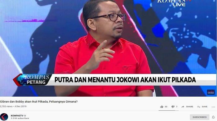 Menantu Jokowi Maju di Pilkada 2020, M Qodari Sebut Jalan Bobby Lebih Terjal daripada Gibran