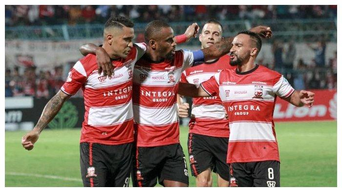 Hasil Akhir Kalteng Putra vs Madura United: Tim Tamu Unggul 4-1, Lihat Cuplikan Golnya