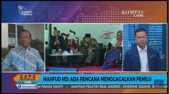Mahfud MD Jelaskan Empat Level Gejala Masyarakat yang Ingin Mengacaukan Pemilu