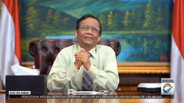 Jokowi Diminta Turun Tangan soal Kisruh Demokrat, Mahfud MD Ungkit Era SBY: Juga Tak Lakukan Apa-apa