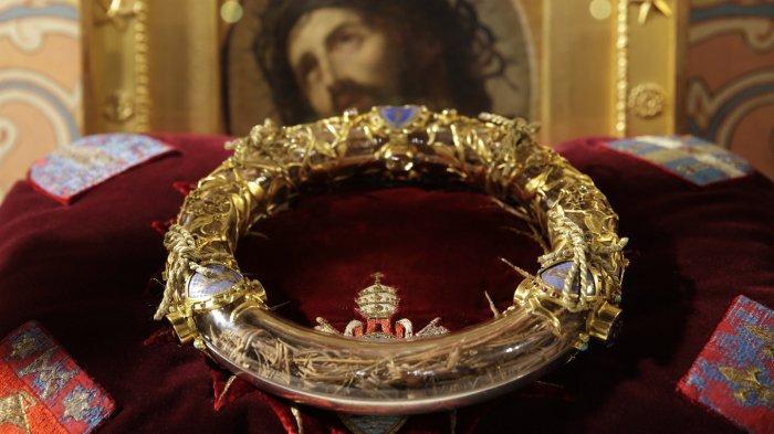 Mahkota duri yang dipercaya dipakai Yesus atau Isa Almasih saat disalib.