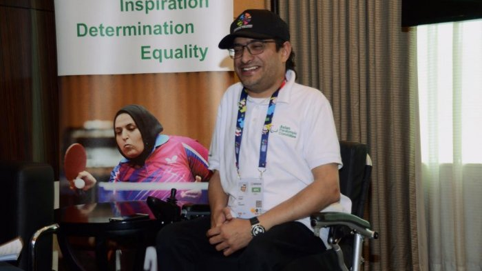Presiden Asian Paralympic Comittee Beri Pujian hingga Baca Pantun di Penutupan Asian Para Games