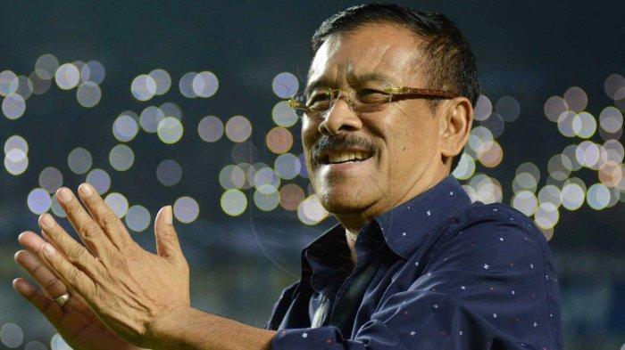 Manajer Persib Bandung, Umuh Muchtar memberi pesan jelang laga Persib Bandung Vs Kalteng Putra