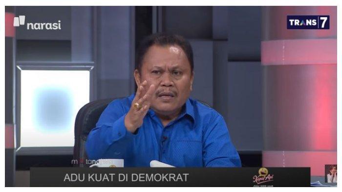 Mantan kader Demokrat, Jhoni Allen mengaku sejauh ini masih menjadi bagian dari Partai Demokrat, disampaikan Jhoni Allen dalam acara Mata Najwa, Rabu (3/3/2021).