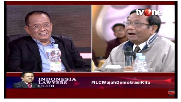 Emosional Dikritik Said Didu di ILC, Mahfud MD: Saya Berkali-kali Bela Kalian Semua