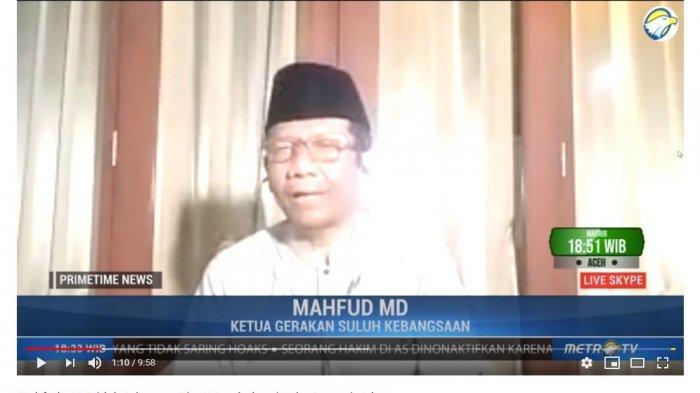 Mantan Ketua Mahkamah Konstitusi (MK) Mahfud MD mengatakan proses rekonsiliasi antara kubu 01 Joko Widodo-Ma'ruf Amin dan Prabowo Subianto-Sandiaga optimis akan terjadi.