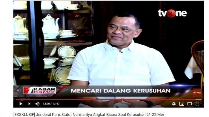 Mantan Panglima TNI Jenderal (Purn) Gatot Nurmantyo menuturkan makna sebuah kata makar bagi  anggota TNI.