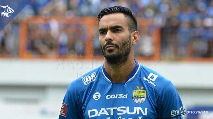 Mantan pemain Persib Bandung, Marcos Flores