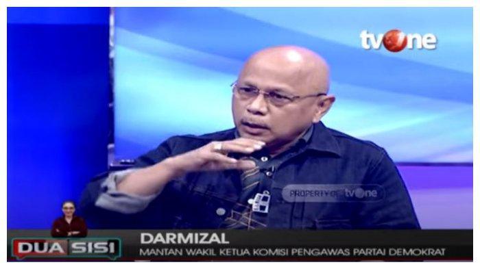 Mantan Wakil Ketua Komisi Pengawas Partai Demokrat, Darmizal mengakui dirinya merupakan aktor dari pertemuan antara KSP Moeldoko dengan kader partai.