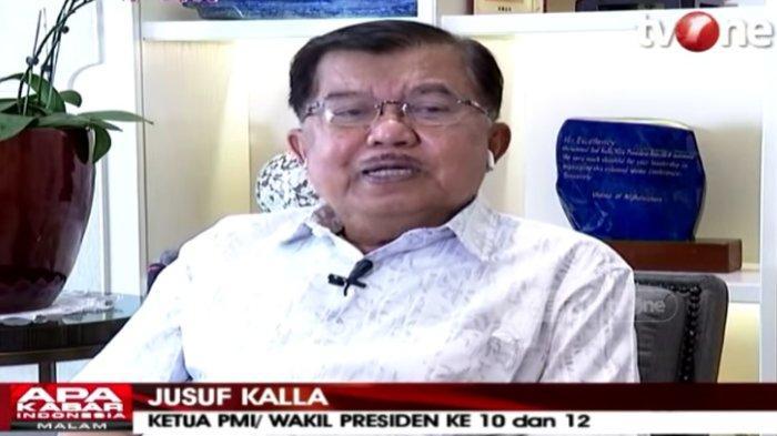 Jusuf Kalla Minta Ribut Sumbangan Rp 2 Triliun Akidi Tio Dihentikan, Ungkit Hoaks Emas Batangan