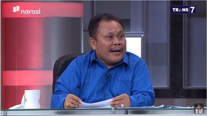 Eks kader Demokrat Jhoni Allen Marbun menceritakan soal isu kudeta Partai Demokrat, dalam acara Mata Najwa, Rabu (3/3/2021) malam.