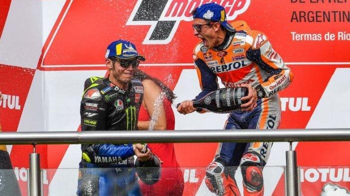 Marc Marquez Diyakini Tak akan Bisa Dikalahkan oleh Siapapun, Termasuk Valentino Rossi