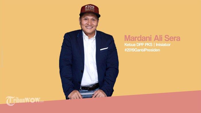 Mardani Ali Sera Ungkap Timnya Baka  Incar Segmen Pemilih 'Emak-emak', Milenial, dan Keumatan