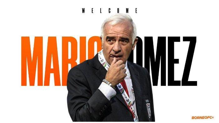 Eks pelatih Persib, Mario Gomez resmi menjadi pelatih Borneo FC pada Senin (15/4/2019)