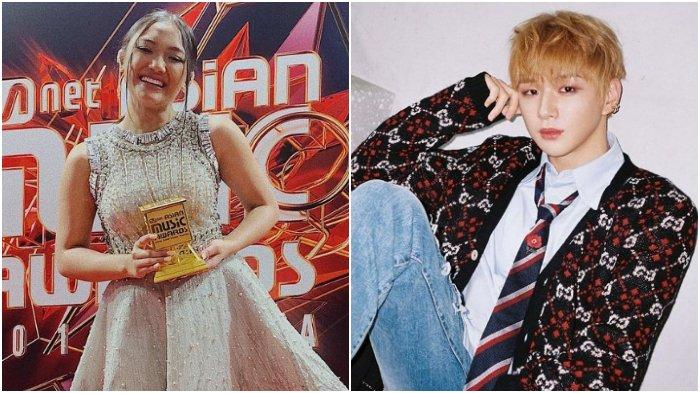 Cerita Marion Jola Ketemu Kang Daniel Wanna One dan Anggota Iz*one saat Hadiri Acara MAMA 2018