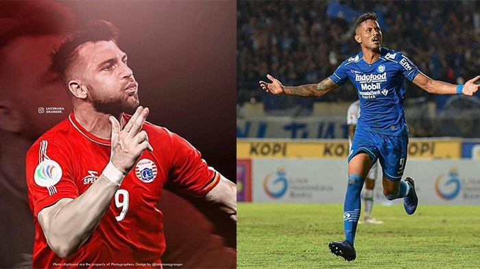 Fakta Unik Bomber Persib Bandung vs Persija Jakarta, Cetak 2 Gol dan Pernah Bermain di Tim yang Sama