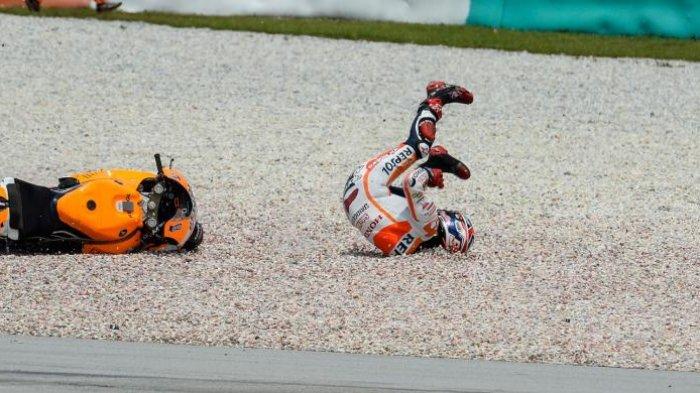 Hasil Klasemen MotoGP setelah Marc Marquez Terjatuh di GP Valencia 2018