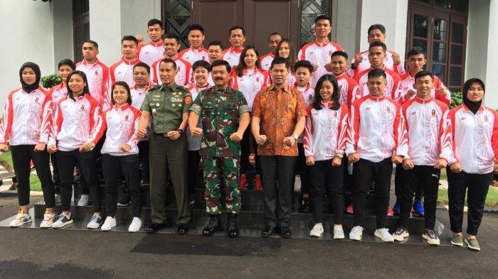 Panglima TNIOptimis dan Yakin Karateka Indonesia Beri Prestasi Terbaikpada SEA Games 2019 Filipina
