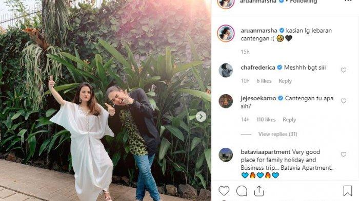 Unggahan Instagram Marsha Aruan