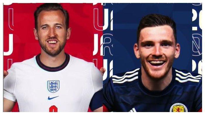 Euro 2020: Line Up Inggris Vs Skotlandia, The Three Lions Rombak 2 Pemain di Derby Britania Raya