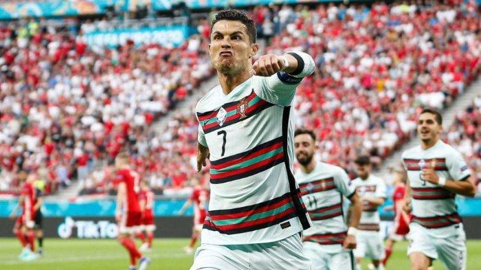 Tak Hanya Catatkan Rekor sebagai Top Skor Piala Eropa, Cristiano Ronaldo Kembali Raih Rekor Ini