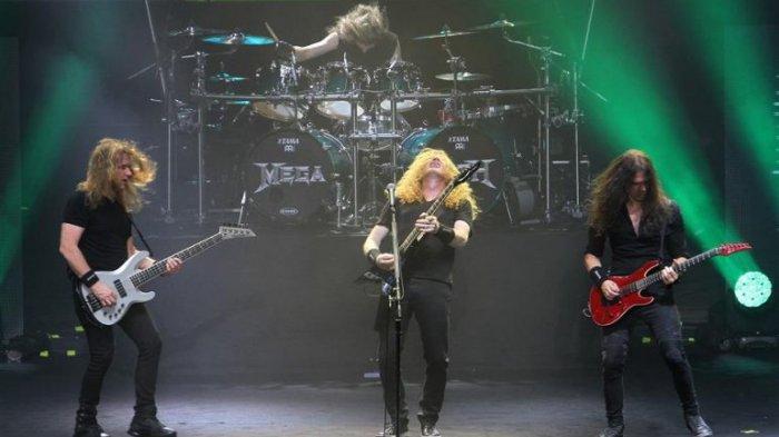 Band Metal Asal Amerika Megadeth Undang Jokowi dan Ganjar Pranowo di JogjaROCKarta Festival