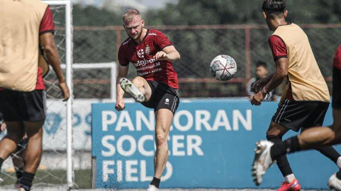Jelang Lawan Persib Bandung, Ini 2 Target Bomber Asing Bali United Melvin Platje, Bukan Cetak Gol?