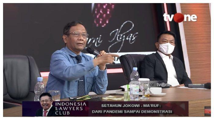 Menko Polhukam Mahfud MD menyakini bahwa andaikan nanti Presidium Koalisi Aksi Menyelematkan Indonesia (KAMI) Gatot Nurmantyo menjadi presiden RI maka tidak akan lepas dari tudingan tidak mengerti Pancasila atau anti Pancasila.