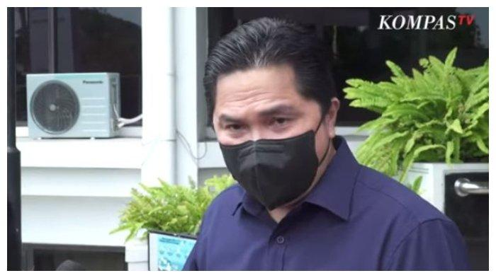 Vaksinasi Gotong Royong Dituding Menggunakan Vaksin Hibah, Erick Thohir: Mohon Maaf, Masyaallah