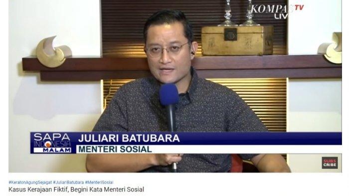 Soal Pengembalian Uang Korban Keraton Agung Sejagat, Menteri Sosial: Mau Tidak Mau Harus Menunggu