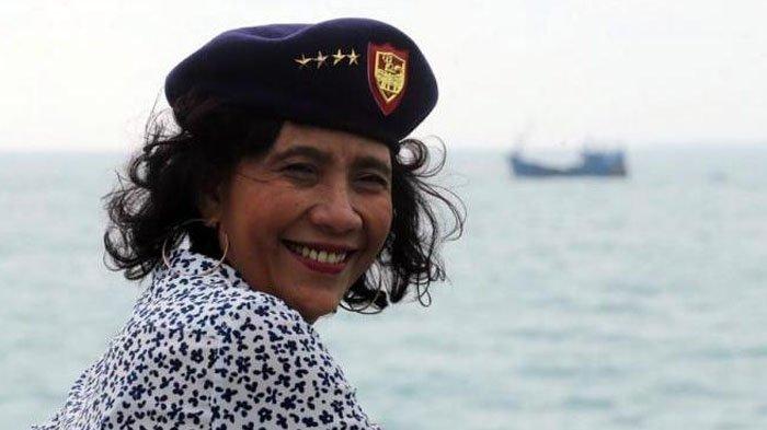 Terkenal Penampilan Sangar, Menteri Susi Pudjiastuti Juga Bisa Tampil Anggun, Berikut Buktinya!