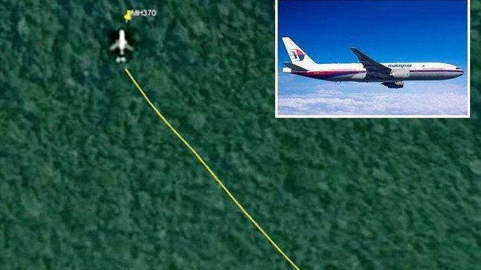 Malaysia Airlines MH370 yang Hilang Misterius Tahun 2014, Terekam Google Maps di Tengah Hutan