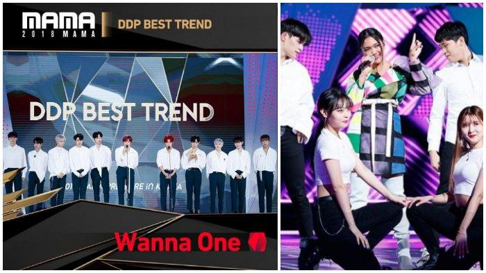 Dari Wanna One hingga Marion Jola, Berikut Daftar Pemenang MAMA 2018