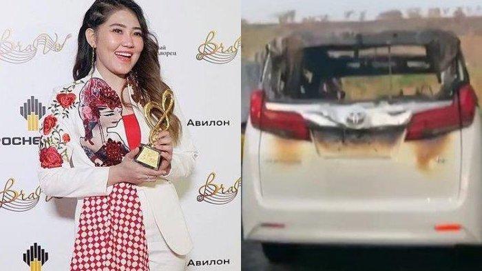Video Detik-detik Terbakarnya Mobil Alphard Milik Via Vallen, Pelaku Berhasil Diringkus Polisi