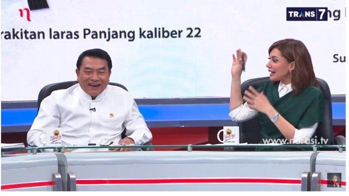 Moeldoko justru tertawa saat dirinya disinggung siapa 'kunci' yang memerintah dalam aksi kerusuhan 21-22 Mei, Rabu (29/5/2019).