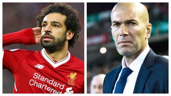 Jelang Laga Lawan Real Madrid, Mohamed Salah Sebut Zinedine Zidane adalah  Pahlawan Masa Kecilnya - Tribun Wow