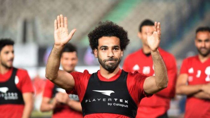 Mohamed Salah Mulai Terlihat Ikut Latihan Timnas Mesir, Siap Bertarung di Piala Dunia 2018?