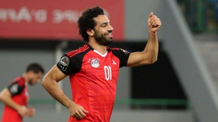 Mohamed Salah saat memperkuat Timnas Mesir