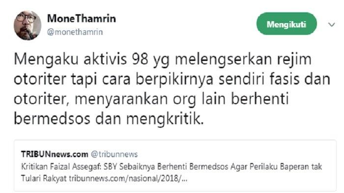Cuitan Mone Thamrin