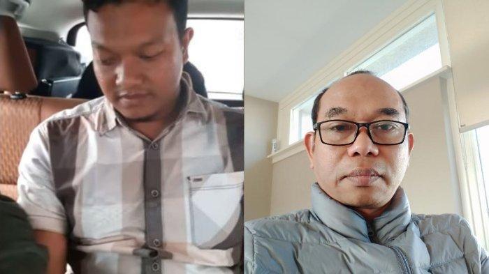 Kolase foto penjual senjata Muchsin Kamal alias Imam Muda dan pengamat dari Departemen Antropologi, Universitas Malikussaleh, Lhokseumawe Al Chaidar Abdurrahman Puteh.