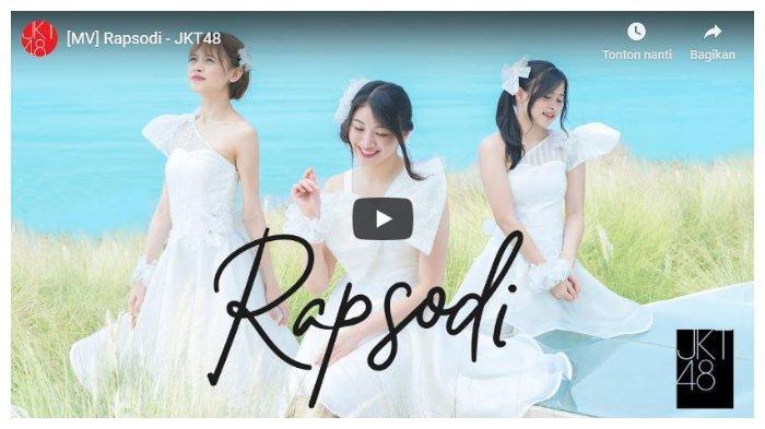 Kunci (Chord) Gitar dan Lirik Lagu 'Rapsodi' dari JKT48