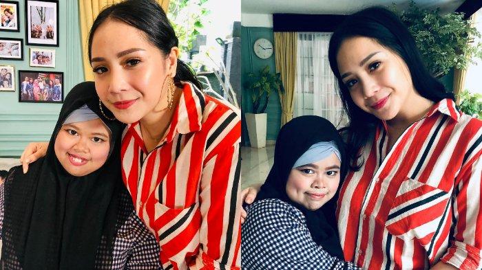 Inginkan Video Rahmawati Kekeyi Putri Lebih Bagus, Nagita Slavina Hadiahkan Satu Set Alat Vlog