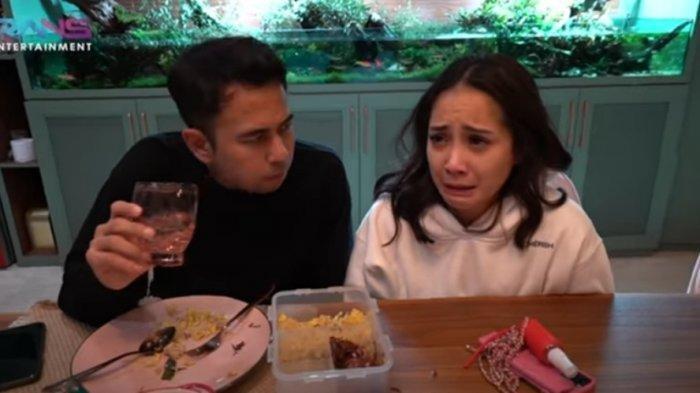 Nagita Slavina menangis dihadapan Raffi Ahmad