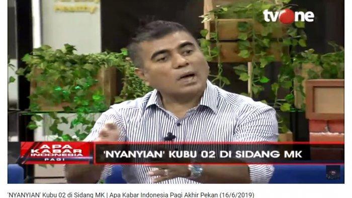 Tim Kuasa Hukum Prabowo-Sandi, Teuku Nasrullah memaparkan kekhawatirannya atas beredar kabar bahwa nantinya pihak yang berperkara di sidang sengketa hasil Pilpres 2019 hanya boleh menghadirkan 2 orang ahli dan 15 saksi untuk membuktikan gugatannya.