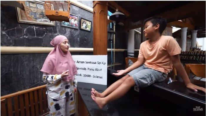 Anak Bungsu Sule Minta Rp 100 Juta, Nathalie Holscher Terkejut: Tadi Saya Kasih Seratus Ribu