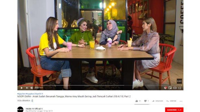 Nia Ramadhani, Tessa Mariska, Amy Qanita, dan Jessica Iskandar.