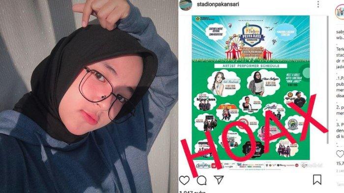 Nissa Sabyan Tak Tampil diPesta Raya Bogor, Manajemen Beri Tanggapan terkait Kabar Hoax